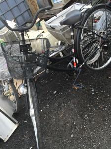 自転車 回収
